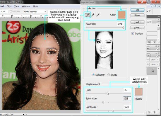 Cara Menyamakan Warna Kulit Dengan Photoshop Kelas Desain Belajar Desain Grafis Mudah