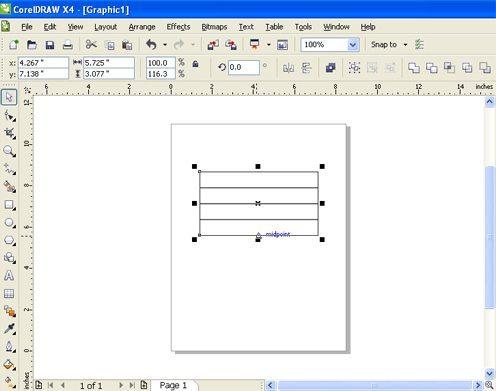 CorelDRAW: Membuat Tabel agar Pas dengan Kotak yang ...