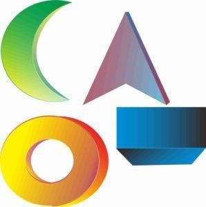 Dasar membuat logo 3D