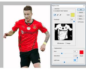 Cara Mengganti Warna Baju Di Photoshop Kelas Desain Belajar Desain Grafis Mudah