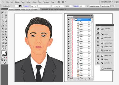 Cara Membuat Vektor Di Adobe Ilustrator Ai Kelas Desain Belajar Desain Grafis Mudah
