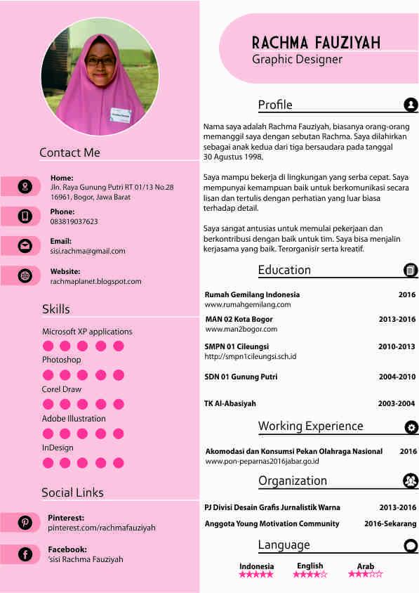 Tutorial Membuat CV Di CorelDraw - Kelas Desain | Belajar ...