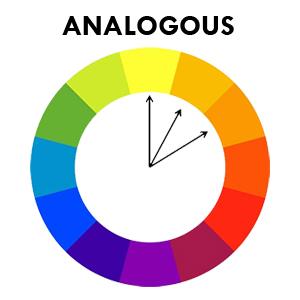 Skema warna analogous