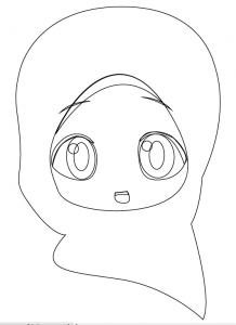 Membuat Vektor Karakter Wanita Berhijab Di Illustrator Kelas Desain Belajar Desain Grafis Mudah