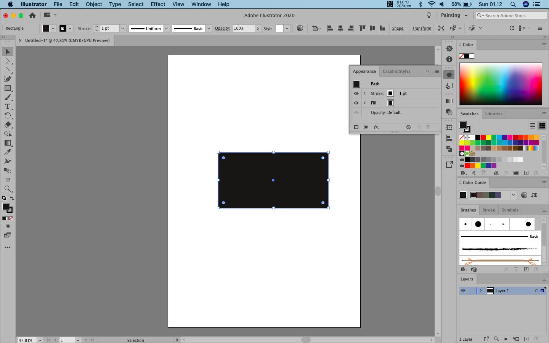 Hal Awal Mudah Menguasai Adobe Illustrator